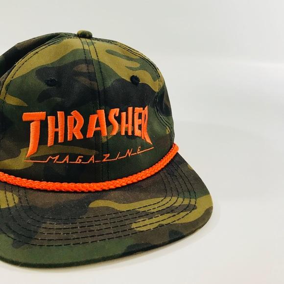 Thrasher Hat Camo Hat. M 5a3aa502a6e3eaabca04939f b4f73e65325